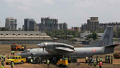 Indian military plane missing with 13...