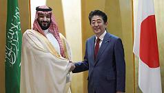 Japan's PM Shinzo Abe offers Saudi crown...