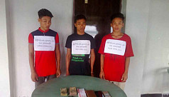 3 UPDF members arrested in Rangamati