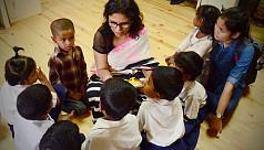 BGMEA President Rubana Huq supports 10 JAAGO children's education