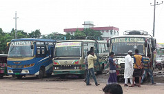 Eid holidaymakers suffer as bus owners go on strike in Sunamganj