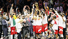 Raptors dethrone Warriors to capture...
