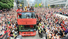 Toronto celebrates, like Toronto...