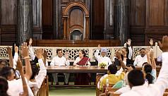 Sonia Gandhi elected leader of Congress...
