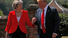 Trump's UK visit turns to Brexit, Huawei...