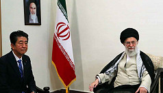 Shinzo Abe meets Iran supreme leader seeking to ease US tensions