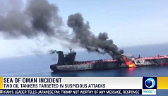 Trump says 'Iran did do it,' as US seeks support on Gulf oil tanker attacks