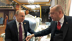 Erdogan sees Russian S-400s delivery...