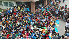 Buet students block road for 2nd consecutive...