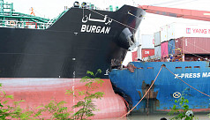 Two ships collide at Chittagong port
