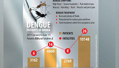 Dengue patients nearly doubled in five...
