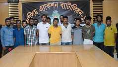 19 extortionists held on Dhaka-Chittagong highway
