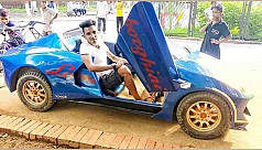 Young mechanic builds his very own electric car in N'ganj