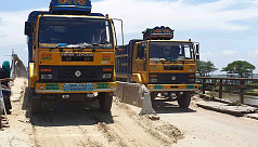 Heavy vehicles still using dilapidated...