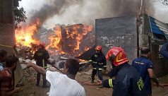 Fire at Tongi cotton warehouse...