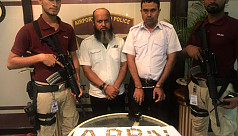 2 Biman staff held with 4kg gold at...
