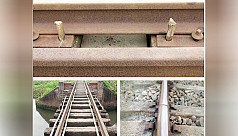 Why are bamboos needed to jack up rail...