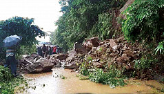 One missing, another injured in Bandarban landslide