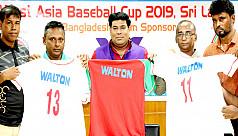 Baseball team leave for Sri Lanka