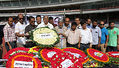 Barua's body cremated in the capital