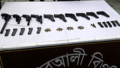 Arms, ammunitions seized in...