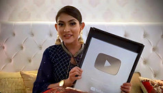 Mehazabien receives Silver Play Button...