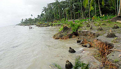 Meghna River erosion: People in Lakshmipur...