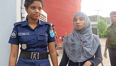 Rohingya woman caught trying to get...