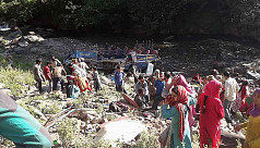 35 dead as bus plunges into gorge in...