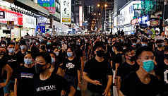 Fresh clashes in Hong Kong after huge...