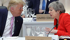 Trump blasts 'foolish' Theresa May and...