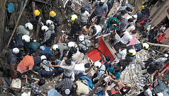 10 dead, several feared trapped after...