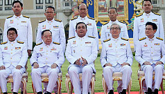 Thai king swears in coup leader's...