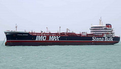 Iran says it seized tanker after collision,...