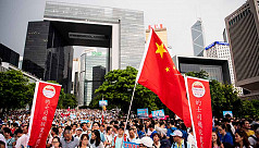 Thousands in pro-police rally as Hong...
