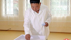 KCNA: Kim Jong votes in elections with...