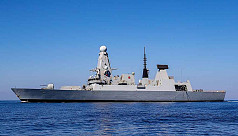 UK warship arrives in Gulf to escort...