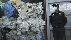Indonesia returns containers of waste...