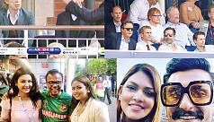 Celebrities spotted at ICC Cricket World Cup 2019 matches