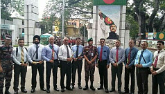BSF delegation in Bangladesh for border...