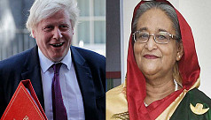 PM Hasina wishes quick recovery of Boris Johnson