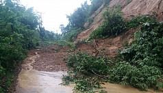 Incessant rains trigger fear of landslides in Chittagong