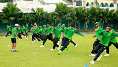 Emerging Team's second match on...