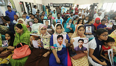 International Day of Enforced Disappearance: Victims families demand independent probe commission