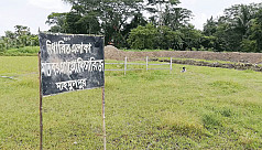 Land grabbed from Hindu families in...