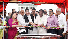 Commerce minister opens RMG factory...