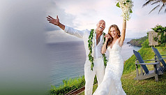 Dwayne The Rock Johnson ties the knot...
