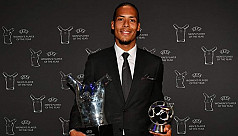 Van Dijk, Bronze take Uefa POTY...