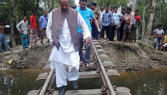 Minister: Dhaka's rail link with Gaibandha to resume before Eid