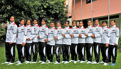 Asian Women's Youth Handball: Bangladesh...